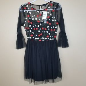 NWT MM BY MY MICHELLE Tulle Rockabilly Dress A00.7